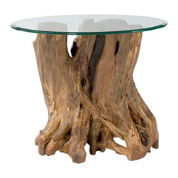 Hammary - Hammary Hidden Treasures Root Ball End Table - Root ball end table belongs to Hidden Treasures collection by Hammary