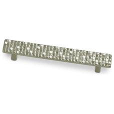 Schaub Select - Italian Design Mosaic 128mm Centers Pull in Satin Nickel