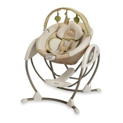 Graco - Graco Glider LX Gliding Swing in Raffy - Designed to deliver the same gentle motion you use when cuddling your little one, this innovative gliding swing has all the features parents want in a swing with the gliding motion baby loves.