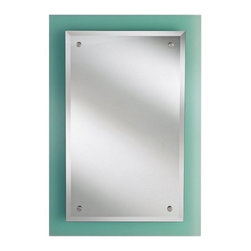 Murray Feiss - Khola Glass Mirror - Item Weight: 40.5 lbs.