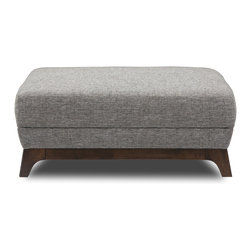 Bryght - Ceni Coral Ottoman - The Ceni Coral ottoman fuses the classic with the modern, with its warm earthy tone and plush seating. The Ceni Coral ottoman works well with the Ceni Coral sofa, Ceni Coral armchair and/or Ceni Coral loveseat, or use it to compliment any other seating arrangement of your choice.