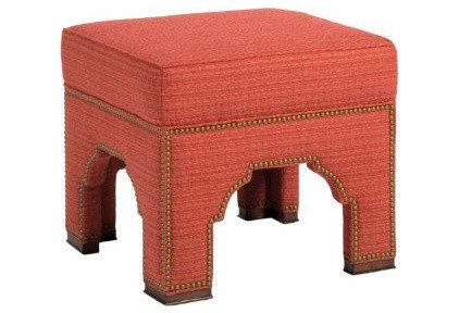 Mediterranean Footstools And Ottomans by Pearson