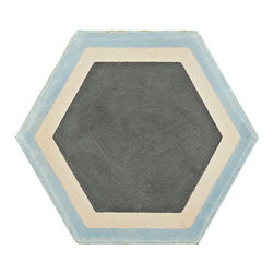 Paccha Honeycomb Tiles - These gorgeous encaustic tiles come in a classic honeycomb design in a ton of pleasing color combinations. As a renter I can only dream of using them in a bathroom or kitchen, but I'd love to buy a few individual tiles, cork the bottoms and use them as hot plates or coasters.