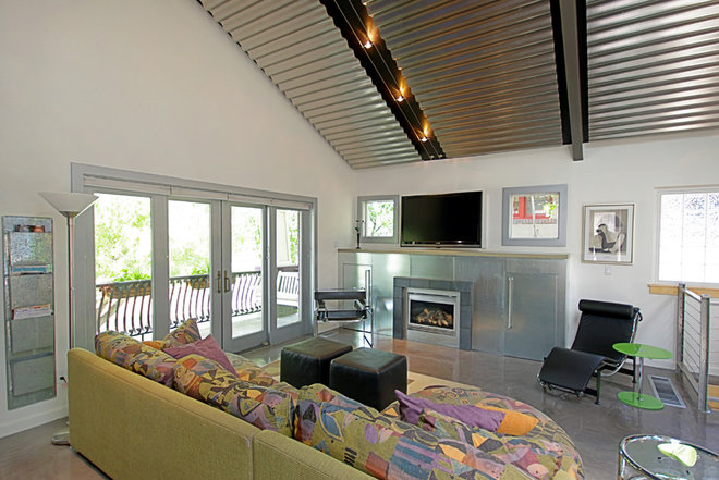 Contemporary Living Room by Renovation Design Group