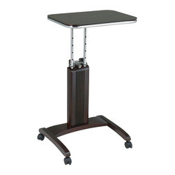 Office Star - Office Star Precision Laptop Stand in Light Cherry Finish - Features: