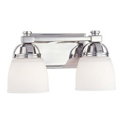 Minka Lavery - Minka Lavery 6502 2 Light Bathroom Vanity Light from the Brookview Collection - Two Light Bathroom Vanity Light from the Brookview CollectionFeatures: