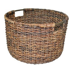 Threshold Global Round Storage Basket - This basket can easily corral a couple blankets or extra pillows. I prefer to keep pillows off the floor, and this basket would make that happen.