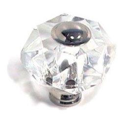 Cal Crystal - Crystal Knob Collection Hexagon Knob -