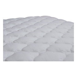 Extra Plush and Extra Thick Mattress Pad - The Extra Plush and Extra Thick Mattress Pad is the Double Thick version of the same mattress pad that we offer that is used in over 125,000 Marriott beds across the U.S. and Canada.