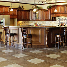 Traditional Kitchen Islands And Kitchen Carts by ProCraft Cabinetry