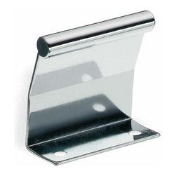 Schwinn Hardware - Schwinn Hardware Tab Pull, 2 Inch Polished Chrome - Schwinn Hardware Tab Pull, 2 Inch Polished Chrome