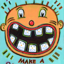 Hal Mayforth - Happy Teeth Make a Happy Smile - Limited Edition