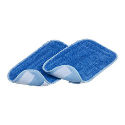 SALAV - SALAV 2-Piece Mop Pad Set for SALAV Performance Series STM-501 Steam Mop - The SALAV 2-Piece Mop Pad replacement pad is designed to be used with the SALAV STM-501 steam mop. The replacement pads securely attach to the SALAV STM-501 steam mop and are easy to remove for washing. The pads are machine washable, non-abrasive and easy to use and replace. Our durable poly material is safe to use on wood, vinyl, laminate, marble, tile and more.