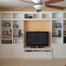 Storage Units And Cabinets by Michigan Woodwork LLC