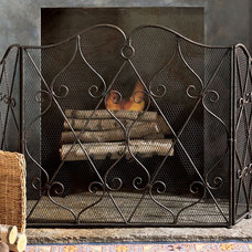 Traditional Fireplace Accessories by Pierre Deux -- CLOSED