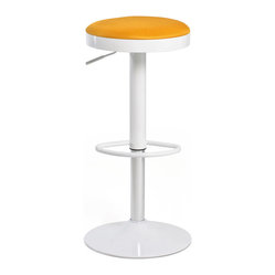 Lollipop Stool, Orange