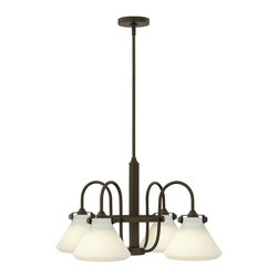 Hinkley Lighting - Hinkley Lighting 3040OZ Congress Oil Rubbed Bronze 4 Light Chandelier - Hinkley Lighting 3040OZ Congress Oil Rubbed Bronze 4 Light Chandelier