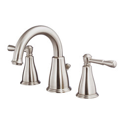 """Danze Eastham™ Two Handle Widespread Lavatory Faucet - - 3 hole mount, 6"""" - 12"""" installation."""
