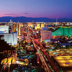 Murals Your Way - Las Vegas, Nevada - Series 2 Wall Art - Photographed by Christopher Gjevre, the Las Vegas, Nevada - Series 2 wall mural from Murals Your Way will add a distinctive touch to any room