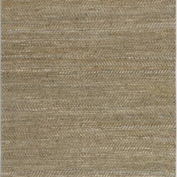 Uttermost - Uttermost Tobais Transitional Rug X-2-25037 - Rescued Italian beige and gray leathers hand woven with natural hemp. This rug is not recommended for high traffic areas.
