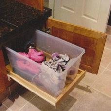 Traditional Laundry Room by Kristi Warrington