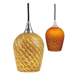Vaxcel International - Milano Mini Pendant Penumbra Glass - Vaxcel International products are highly detailed and meticulously finished by some of the best craftsmen in the business.