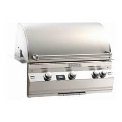 "Fire Magic - Aurora A540i1L1N Built In NG Grill with Left Side Infrared Burner - A540 Built In Grill Only with Factory Installed Left Side Infrared BurnerA540i Features: Cast stainless steel ""E"" burners - guaranteed for life"