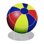 "Glass Tile Oasis - Small Multi Color Beach Ball Pool Accents Multi Color Pool Glossy Ceramic - Sheet size:  9"" x 9""     Tile thickness:  1/4""      Sheet Mount:  Mesh Backed     Sold by the piece     - We offer six lines of in-stock designs ready for immediate delivery including: The Aquatic Line  The Shadow Line  The Hang 10 Line  The Medallion Line  The Garden Line and The Peanuts® Line.All of the mosaics are frost proof  maintenance free and guaranteed for life.Our Aquatic Line includes: mosaic dolphins  mosaic turtles  mosaic tropical and sport fish  mosaic crabs and lobsters  mosaic mermaids  and other mosaic sea creatures such as starfish  octopus  sandollars  sailfish  marlin and sharks. For added three dimensional realism  the Shadow Line must be seen to be believed. Our Garden Line features mosaic geckos  mosaic hibiscus  mosaic palm tree  mosaic sun  mosaic parrot and many more. Put Snoopy and the gang in your pool or bathroom with the Peanuts® Line. Hang Ten line is a beach and surfing themed line featuring mosaic flip flops  mosaic bikini  mosaic board shorts  mosaic footprints and much more. Select the centerpiece of your new pool from the Medallion Line featuring classic design elements such as greek key and wave elements in elegant medallion mosaic designs."