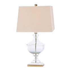 """Hudson Valley - """"L746-AGB-WS Clyde Hill Table Lamp, Aged Brass"""" - """"Art Deco Table Lamp in Aged Brass from the Clyde Hill Collection by Hudson Valley. Dimensions: 30.00 H 18.00 W"""