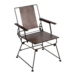 Brady Folding Chair - Product Features: