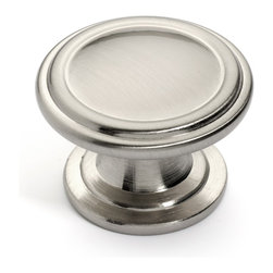 Dynasty Hardware - Super Saver K-8038-S Classic Cabinet Knob, Satin Nickel - The K-8038-S Super Saver Two Ring Cabinet Knob offers great value and quality that is equal to other brand names at a much lower price.