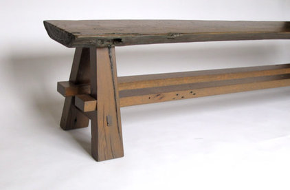 Eclectic Benches by Etsy