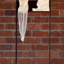 Art glass sculpture-CONVERSATION...14 -