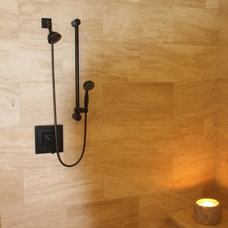 Transitional Bathroom by Atmosphere Design Group
