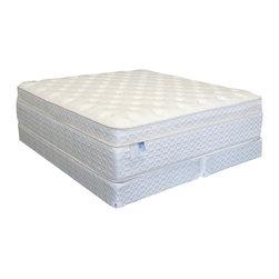 Maxim - Pocket Coill Memory Foam Mattress & Box Spring, Cal King - Product Description