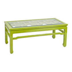Worlds Away Changright Coffee Table -