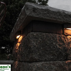 Traditional Outdoor Lighting by Montano's Landscaping