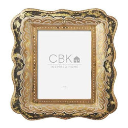MIDWEST CBK - Black and Gold 8 x 10 Frame - Black and Gold 8 x 10 Frame. Shop home furnishings, decor, and accessories from Posh Urban Furnishings. Beautiful, stylish furniture and decor that will brighten your home instantly. Shop modern, traditional, vintage, and world designs.