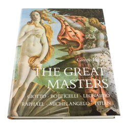 SOLD OUT!   Vintage Book: The Great Masters - $40 Est. Retail - $30 on Chairish. -