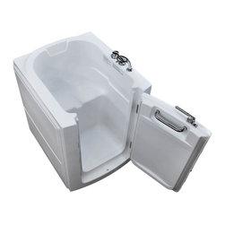 Arista - 32 x 38 Right Drain Soaking Walk-In Bathtub - Soaker Tub - DESCRIPTION