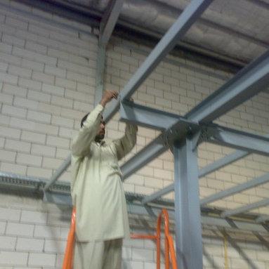 Nour Company Platform Roof & Shelves -