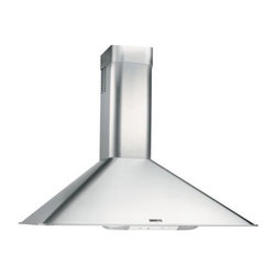 "Broan - 30"" Range Hood, Ligh, 270 CFM - RangeMaster RM50000 series European design chimney range hood for wall mount installation