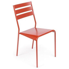 patio furniture and outdoor furniture Fermob Facto Stacking Chair