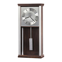 Howard Miller - Howard Miller Contemporary Triple Chime Harmonic Movement Wall Clock | BRODY - 625541 BRODY