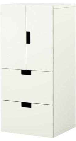 Ebba Strandmark - STUVA Storage combination w doors/drawers | IKEA - Storage combination w doors/drawers, white, white
