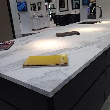 Contemporary Kitchen Countertops by Fox Marble & Granite