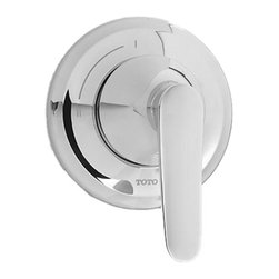 Toto - Toto TS230DW#CP Wyeth Two-Way Diverter Trim - Toto's TS230DW#CP is a Wyeth Two-way Diverter Trim from the Wyeth series, and it comes with a beautiful Polished Chrome finish. This 2-way diverter trim features a lever handle, and is designed for use with the Two-Way diverter valve. This model is ADA compliant.