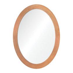 "Ren Wil - Ren Wil MT1441 Skane 24"" Oval Metal Frame Wall Mounted Mirror - Features:"