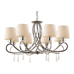 Trans Globe Lighting - Trans Globe Lighting 70398 PC Chandelier In Polished Chrome - Part Number: 70398 PC
