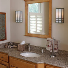 Craftsman Bathroom Lighting And Vanity Lighting by Brass Light Gallery